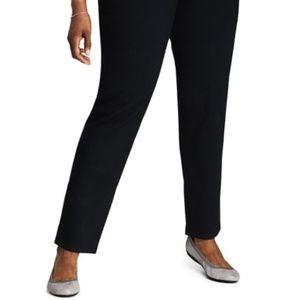 Elastic Waist Classic Black Pants Size 12/14